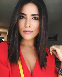 "24.2k Likes, 463 Comments - SAZAN HENDRIX (@sazanhendrix) on Instagram: ""Red top, pink lip. ❤️ #selfie #motd  #sazantravels #newzealand #happyweekend"""