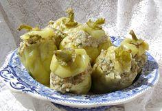 W Mojej Kuchni Lubię.. : szybkowar-papryki drobiowo-ryżowe z zieleniną...