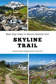 Skyline Trail: Mount Rainier's Best Day Hike - The National Parks Experience - Best Day Hike in Mount Rainier National Park, Washington – Skyline Trail Loop - Scenic Photography, Landscape Photography, Night Photography, Washington Things To Do, Washington State, Mt Rainier National Park, North Cascades National Park, Us National Parks, Olympic National Park Hikes