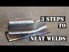 Here's 3 quick tips to help you get a neater looking finish on your MIG welding projects.
