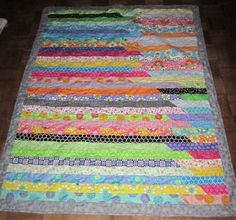Free Homemade Jelly Roll Pattern | Jelly Roll quilt - Quilters Club of America