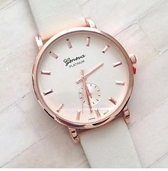Women Watch with Roman numbers, $35.00