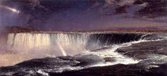 NIAGARA FALLS BY CHURCH 1857