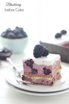 Blackberry Icebox Cake