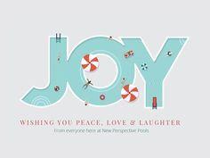 Christmas Card Design by Jennifer Leigh