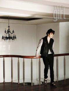 Super Junior's Donghae with ELLE Girl Magazine #allkpop #kpop