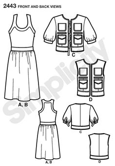 78 best sewing pattern library images dress patterns sewing Authentic German Dirndl simplicity 2443 misses dresses