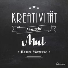 Kreativität braucht Mut!