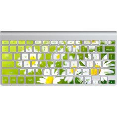 You will feel like you're dancing in a field of daisies with this floral keyboard decal. Created for Mac (Apple) keyboards only. Printed on premium qua Laptop Keyboard Covers, Keyboard Stickers, Computer Keyboard, Daisy Field, Kindle Cover, Cork Coasters, Best Gifts, Cool Stuff, Handmade Gifts