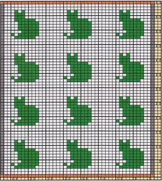 Ravelry: Potholder Little Cats pattern by Regina Schoenfeldt