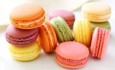 Not to be confused with the sweet coconut based Macaroons,French Macarons (pronouncedmah-kah-ROHN)arelight, airy and delicate meringue sandwich cookies baked in an infinite array of flavors and fillings. The basic ingredients for the macaron shells are