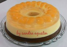 Mandarin Orange Pudding Pudding Desserts, Pudding Recipes, No Bake Desserts, Easy Desserts, Cake Recipes, Dessert Recipes, Jelly Cream, Orange Recipes, Indonesian Food