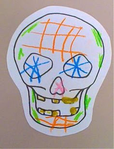 How to sugar skull lesson