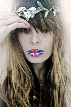 British-lips pinned by www.pikeletworkshop.com