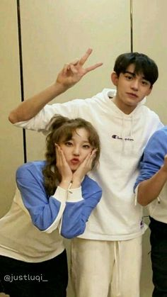 look at that baby face Lucas Nct, Keep Running, Running Man, Kpop Couples, Funny Kpop Memes, Xiuchen, Korean Couple, Soyeon, Sooyoung