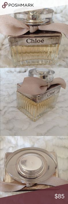 Chloe Eau de Parfum Spray 1.7oz I used this perfume for a very short time as you can see the perfume is nearly full. I have had this stored in my closet. I purchased at Nordstrom for $105 Chloe Other