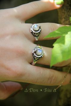 Moonstone Locket Ring Secret Compartment Ring by DonBiuBali, $39.90 - this ring is so beautiful.  I bought and I am over the moon with it!  The seller was fantastic and very helpful.  I will be ordering from the seller very soon!!  Seller:  Don Biu Bali