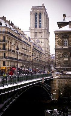 A different perspective ... Notre-Dame, Paris, France