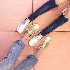 We don't do basic, but we're all about a classic (with a twist) like these Vans Classic Slip-On in Metallic. || Gold: http://www.nastygal.com/brands-vans/vans-classic-slipon-sneaker--metallic-gold?utm_source=pinterest&utm_medium=smm&utm_content=omg_shoes&utm_campaign=pinterest_nastygal || Silver: http://www.nastygal.com/brands-vans/vans-classic-slipon-sneaker--metallic-leather?utm_source=pinterest&utm_medium=smm&utm_content=omg_shoes&utm_campaign=pinterest_nastygal || All Vans Shoes…