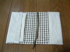 ボタン柄ブックカバーの作り方|ブックカバー|文具・本