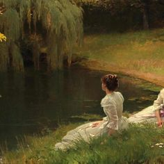 Elegant Ladies at Rest by Louis Emile Adan (ARC) Elegant Woman, Aesthetic Art, The Dreamers, Rest, Fine Art, Photo And Video, Lady, Artwork, Expressionism
