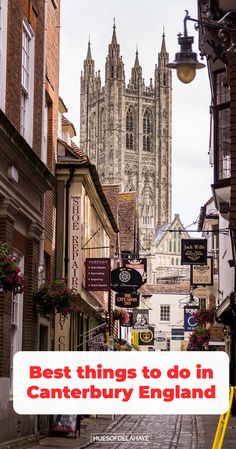 Wondering what are the best things to do in Canterbury England? Well this one day in Canterbury itinerary. Will help you find things to do, what to see, where to stay, Best Canterbury photography, Canterbury Cathedral, what food to eat, and more important information for your travels to Canterbury. Everything you'll in to know what to do in Canterbury in one day. Day trip to Canterbury from London #Canterburytravel #Canterburytraveltips Europe Travel Tips, Travel Guides, Travel Destinations, Travel Plan, Holiday Destinations, Canterbury England, Canterbury Cathedral, Dover Castle, Leeds Castle