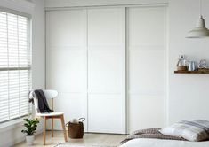 If your old fitted wardrobe doors are starting to look a little battered and tired you may think about removing them or having an entirely new installation. A very simple shift in wardrobe door style can easily considerably alter the look of the wardrobe. Bedroom Cupboard Doors, Sliding Cupboard, Bedroom Cupboards, Sliding Closet Doors, White Sliding Door Wardrobe, White Wardrobe, Bedroom Wardrobe, Fitted Wardrobe Doors, Sliding Door Wardrobe Designs