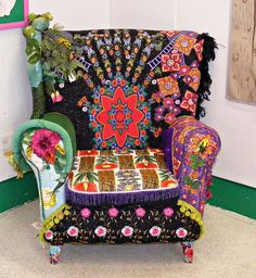 Storytelling chair. Found at Seven Stories centre in Newcastle.