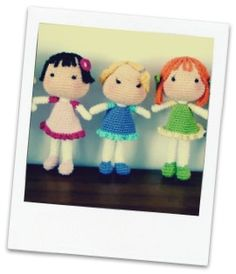 MUÑECAS AMIGURUMI CROCHET Baymax, Peppa Pig, Amigurumi Doll, Crochet Baby, Baby Dolls, Knitting, Toys, Pattern, Creative Crafts