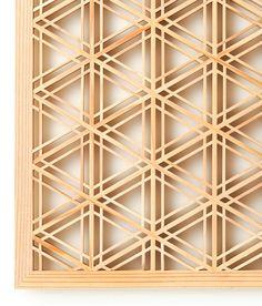 Sesame wooden panel from Biden