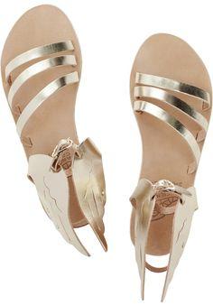 Cutest greek sandals at Net-a-porter
