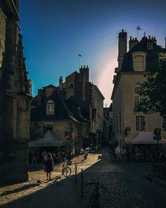 """36 Likes, 3 Comments - Marcus Merkl (@mmmerkl) on Instagram: """"Sunset ☀️ #rennes #bretagne #france #brittany #streetshot #streetsnap #streetphoto #streetpic…"""""""