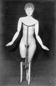 The coat-stand, Man Ray, 1920
