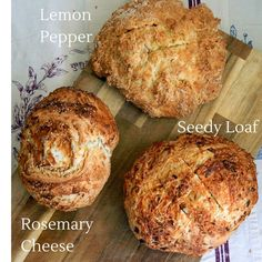 Traditional Irish soda bread is a deliciously hearty and grainy loaf. Soda bread is very quick and easy to make and is perfect next to a bowl of stew or toasted for breakfast. Here's a traditional recipe for soda bread with 4 flavour options. Kefir Recipes, Bread Recipes, Baking Recipes, Veg Recipes, Healthy Recipes, Recipe For Soda Bread, Traditional Irish Soda Bread, Buttermilk Bread, Muffins