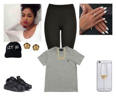"""""""Polo"""" by kira101-101 ❤ liked on Polyvore featuring NIKE, Chanel and Ralph Lauren"""
