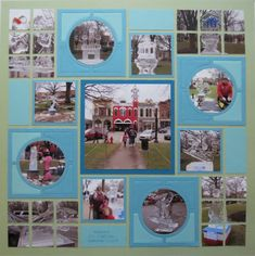 Mosaic Moments Designing with Dies 3x3 Circle Center Frame Die