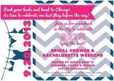 Bachelorette Invite via Etsy - $10 - CWesterbuhr