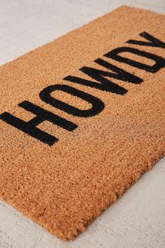 Slide View: 2: Reed Wilson Design Howdy Doormat