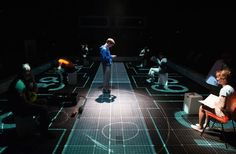 LIGHTING DESIGN 'Curious Incident of the Dog in the Night Time' (2013) Award winning lighting designer Paule Constable harnessed the power of pixel-mapping technology for this piece of theatre.