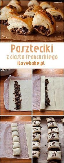 Zobacz zdjęcie Paszteciki z ciasta francuskiego