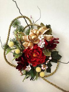 正月飾り 母の作品 ♪ Japanese New Year, Floral Wreath, Wreaths, Style, Swag, Floral Crown, Door Wreaths, Deco Mesh Wreaths, Floral Arrangements
