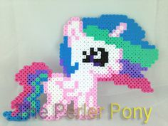 Mon petit poney Filly stupide Perler poneys : Princesse Celestia