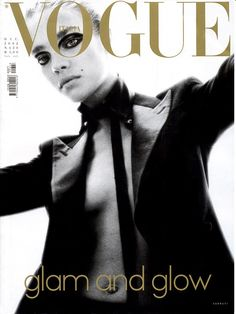 Natalia Vodianova by Steven Meisel Vogue Italia December 2002