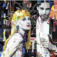 More teases of my new work for @rinascente S/S 2018 campaign /// see the full set of ten this Tuesday in Rome /// plus a live demonstration /// Ciao! #rinascente #milanfashionweek #roma #romafashion #fashionblogger #italianfashion #italia #tourofitaly #collage #luxurylife #contemporaryart #derekgores