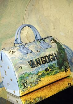 A Van Gogh by Jeff Koons for Louis Vuitton Speedy.