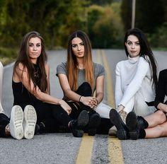 Christina, Lauren and Danielle