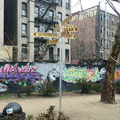 Crossroad of feelings found in Manhattan