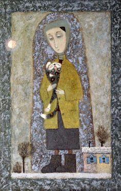 Зимнее солнце. Картины художника. Янин Александр Эдуардович. Художники. Картины, картинная галерея, продажа картин