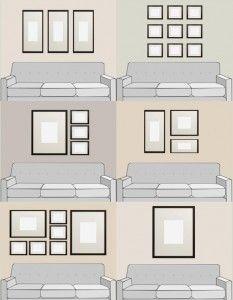 Ideas For Hanging Art Over The Sofa Karen S Detail Custom Frames Orange County Ca