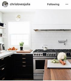 Homemade Dinners, Black Wood, Chris Du0027elia, The Blog, Interior Design,  Simple, Link, Kitchen Designs, Profile